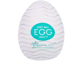Masturbador Magical Kiss Egg - Wavy - Importado