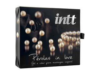 Pérolas in love - Kit com colar e gel siliconado - Intt