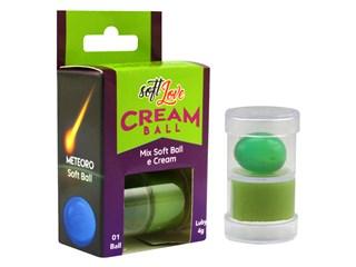 Cream Ball Meteoro Mamba Verde - Soft Love